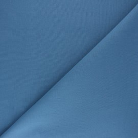 Plain cotton fabric - Bleu de France Nuance x 10cm