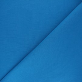 Plain cotton fabric - blue Nuance x 10cm