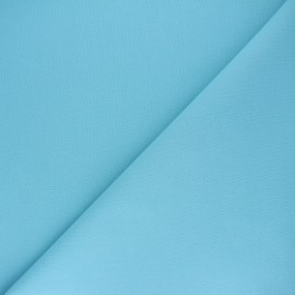 Plain cotton fabric - azure blue Nuance x 10cm