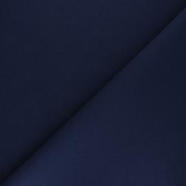 Plain cotton fabric - navy blue Nuance x 10cm