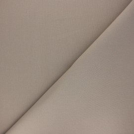 Plain cotton fabric - taupe brown Nuance x 10cm