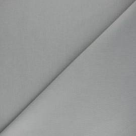 Tissu Coton uni Nuance - gris souris x 10cm