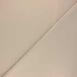 Plain cotton fabric - pale sand Nuance x 10cm