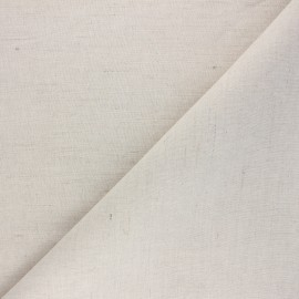 Poly linen fabric - natural x 10cm