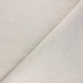 Tissu polylin - naturel x 10cm