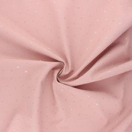 Special rain waterproof fabric - pink Pois brillants x 10cm