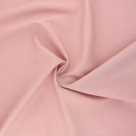 Special rain waterproof fabric - pink Etoiles x 10cm