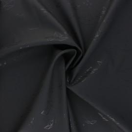 Special rain waterproof fabric - grey Bateau Origami x 10cm