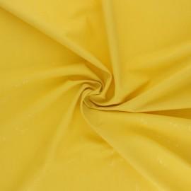 Tissu enduit spécial ciré Bateau Origami - jaune x 10cm