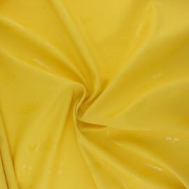 Special rain waterproof fabric - yellow Sous-marin x 10cm