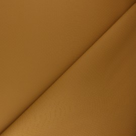 Imitation leather fabric - camel Ecailles x 10cm