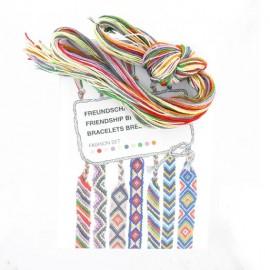 Kit Bracelets brésiliens multi pastel