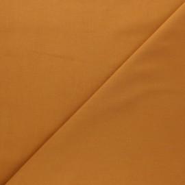 Tissu Popeline de coton uni Tonalité - ocre x 10cm