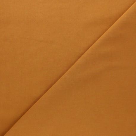 Cotton poplin fabric - ochre Tonalité x 10cm