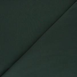 Tissu Popeline de coton uni Tonalité - vert sapin x 10cm