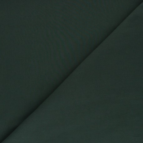 Cotton poplin fabric - pine green Tonalité x 10cm