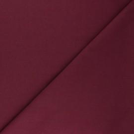 Tissu Popeline de coton uni Tonalité - bordeaux x 10cm