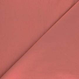 Cotton poplin fabric - soft pink Tonalité x 10cm