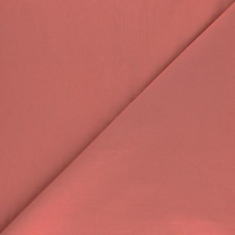 Tissu Popeline de coton uni Tonalité - rose thé x 10cm