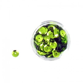 1 box of  sequins - mapple green