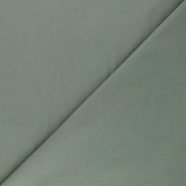 Tissu Popeline de coton uni Tonalité - vert sauge x 10cm