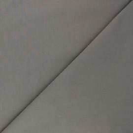 Tissu Popeline de coton uni Tonalité - taupe x 10cm