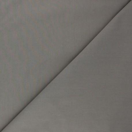 Cotton poplin fabric - taupe grey Tonalité x 10cm