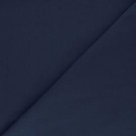 Cotton poplin fabric - navy blue Tonalité x 10cm