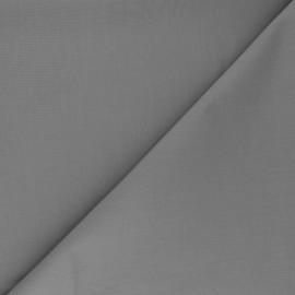 Tissu Popeline de coton uni Tonalité - gris souris x 10cm
