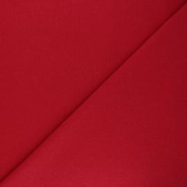 Jersey tubulaire Recyclé 1/1 - rouge x 10cm