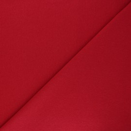 Recycled tubular jersey fabric - red x 10cm