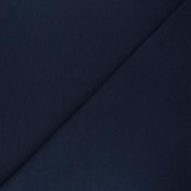 Jersey tubulaire Recyclé 1/1 - bleu marine x 10cm