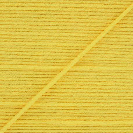 2,5 mm Facemask elastic - Yellow Colorama