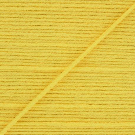 Elastique masque Colorama 2,5 mm - Jaune