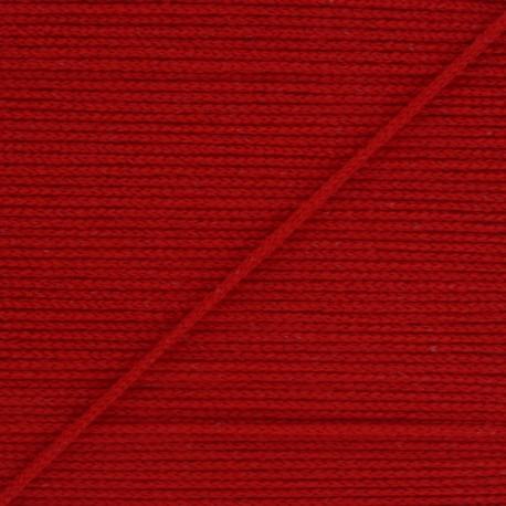 Elastique masque Colorama 2,5 mm - Rouge