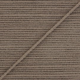 2,5 mm Facemask elastic - Taupe Colorama