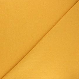 Jersey tubulaire Recyclé 1/1 - jaune moutarde x 10cm