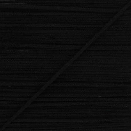 Elastique masque Colorama 2,5 mm - Noir