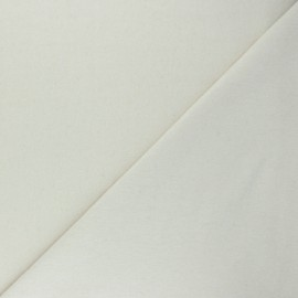 Jersey tubulaire Recyclé 1/1 - écru chiné x 10cm