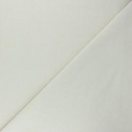 Recycled tubular jersey fabric - mottled raw x 10cm
