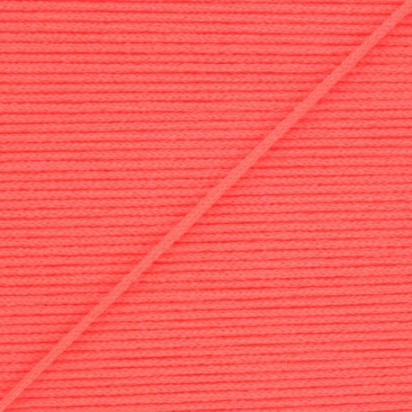 Elastique masque Colorama 2,5 mm - Rose fluo