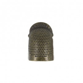 Adjustable copper Thimble - Bronze