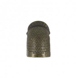 Dé à Coudre en cuivre réglable - Bronze