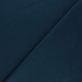Tissu Coton huilé Hunter - bleu pétrole x 10cm