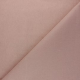 Waxed Cotton Fabric - old pink Hunter x 10cm