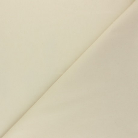 Waxed Cotton Fabric - raw Hunter x 10cm