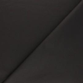 Tissu Coton huilé Hunter - chocolat x 10cm
