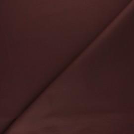 Tissu Coton huilé Hunter - acajou x 10cm