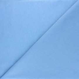 Tissu Coton huilé Hunter - bleu ciel x 10cm
