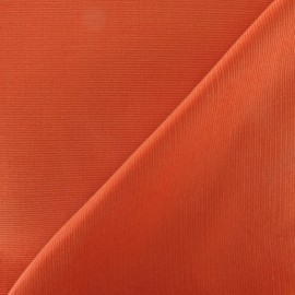 Milleraies velvet fabric - orange 200gr/ml x10cm